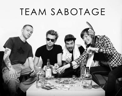 TEAM SABOTAGE Presse-Foto-2013